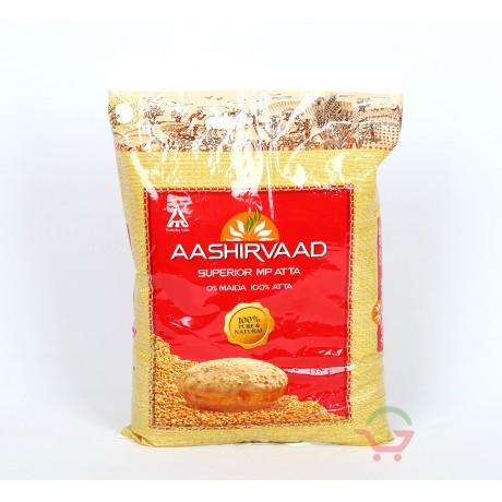 Aashirvaad Whole Wheat Atta 1kg