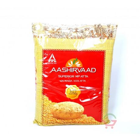 Aashirvaad Whole Wheat Atta 5kg