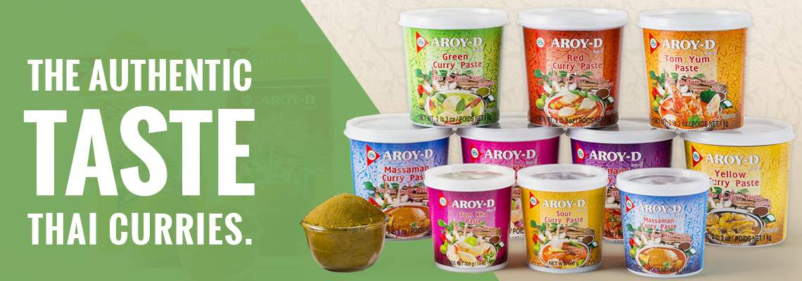 The Authentic Taste Thai Curries Aroy-D products